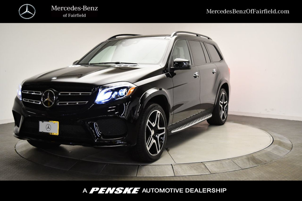 Certified Pre-Owned 2017 Mercedes-Benz GLS GLS 550 4MATIC® SUV