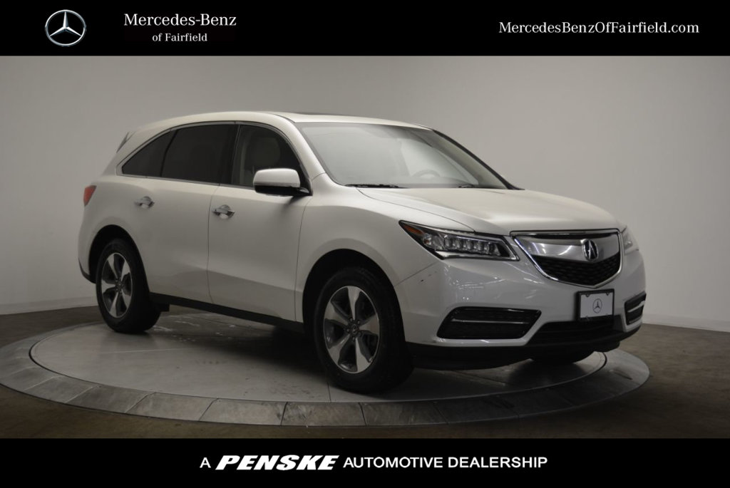 PreOwned Acura MDX L SUV In Fairfield BA Mercedes - Acura mdx pre owned