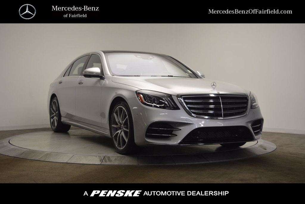 New 2018 mercedes benz s class s 560 sedan in fairfield for Mercedes benz fairfield