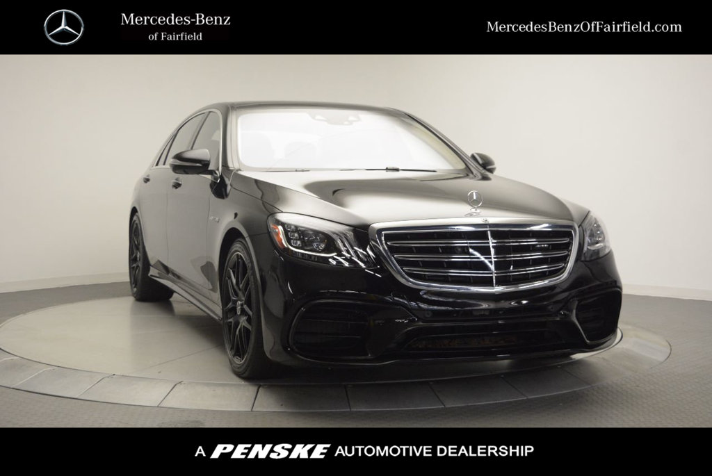 Certified Pre-Owned 2019 Mercedes-Benz S-Class AMG® S 63 4MATIC® Sedan
