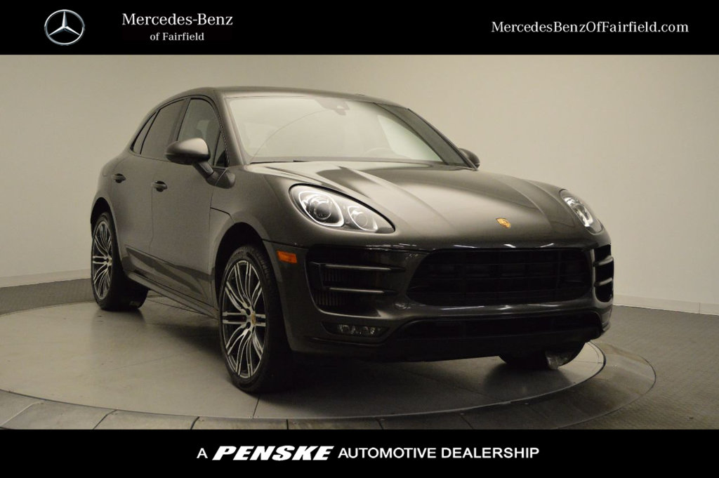 Pre-Owned 2015 Porsche Macan AWD 4dr Turbo