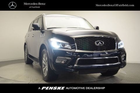 Pre-Owned 2017 INFINITI QX80