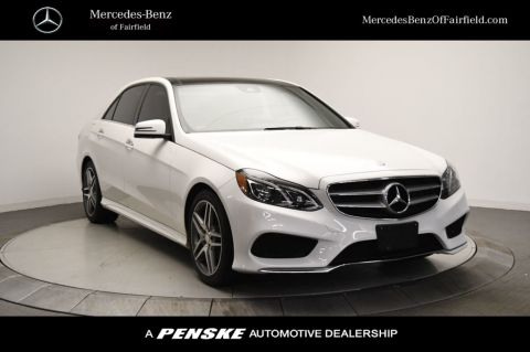 Certified Pre-Owned 2016 Mercedes-Benz E-Class 4dr Sedan E 400 4MATIC®