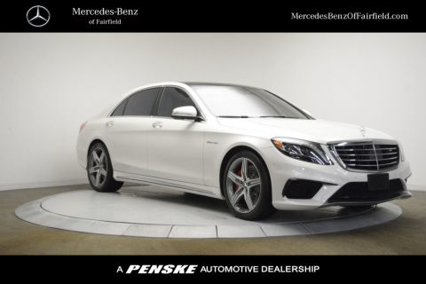 Certified Pre-Owned 2016 Mercedes-Benz S-Class AMG® S 63 Long Wheelbase 4MATIC®